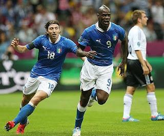 أهداف مباراة ايطاليا والمانيا 2-1 في بطولة اليورو 28-6-2012