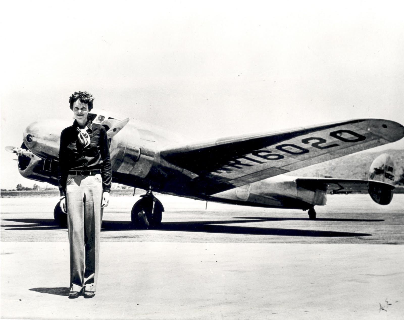 Una mujer en el aire, Amelia Earhart | Turkish Twilights And ...