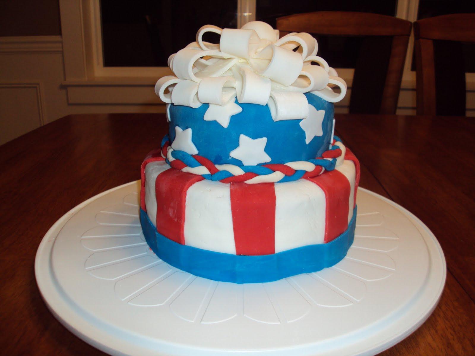 Cakes By Gigi 4th Of July Birthday Cake