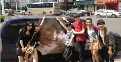 Greyson Chance leaving China for Hong Kong - July 2012