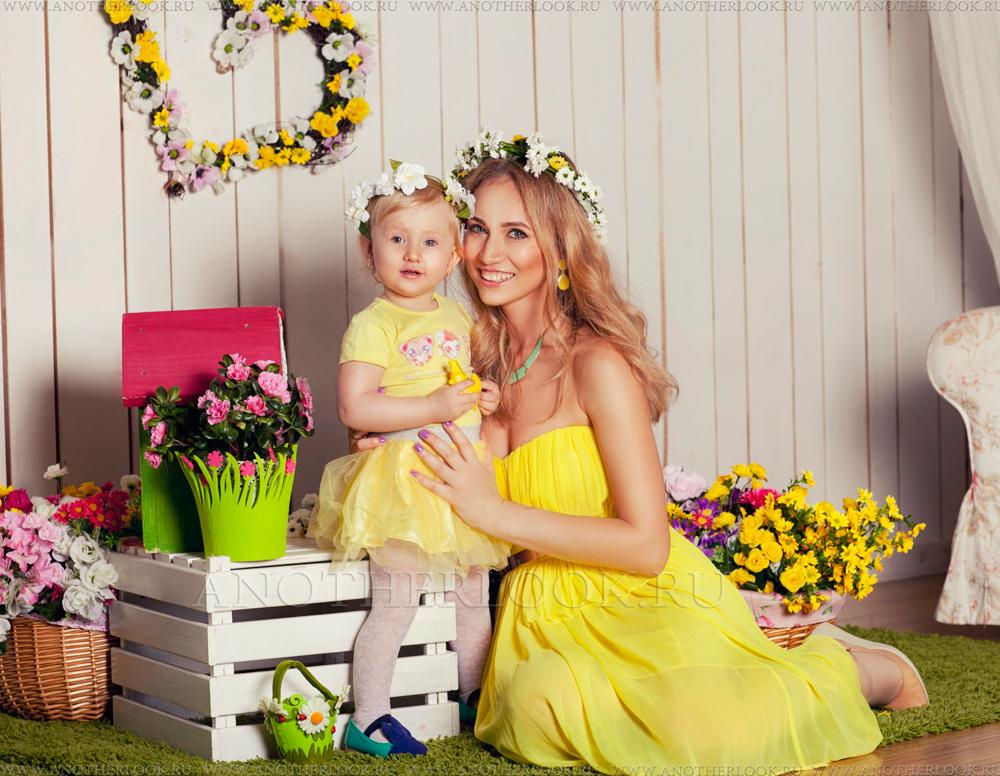 красивые мамы и дочки фото