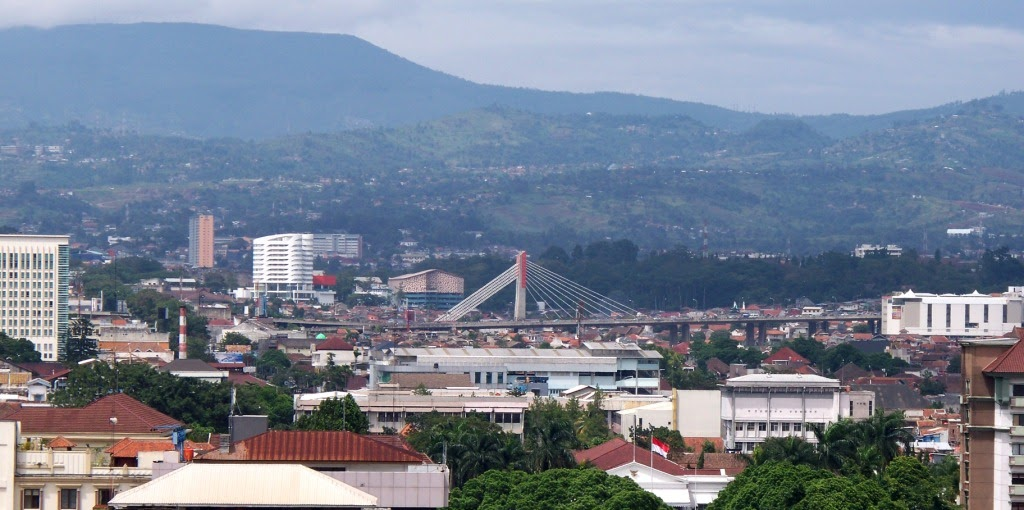 The Pasupati Bridge at Bandung City Indonesia - Our Home Java Island