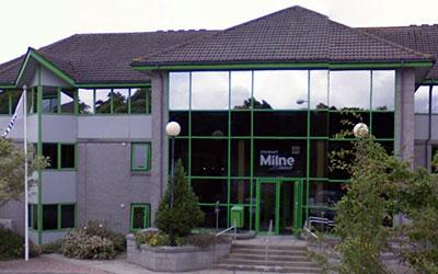 Wee Dr Stewartie Milne's HQ