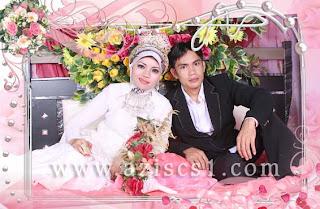 Frame untuk wedding