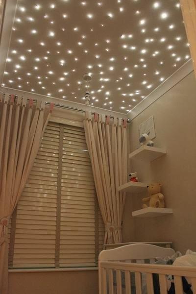 Fernanda Calheiros  BLOG Decoração de quarto com luzes de natal
