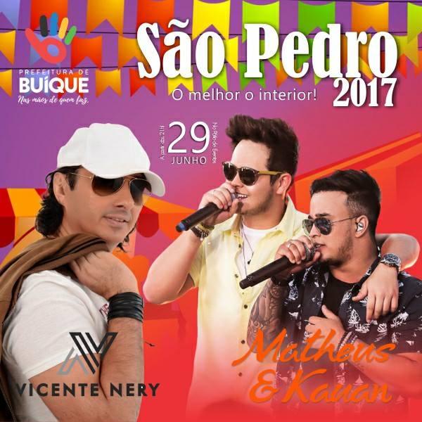 Tradicional São Pedro de Buíque!!!