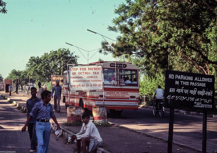 Faridabad Street Scene - 1977