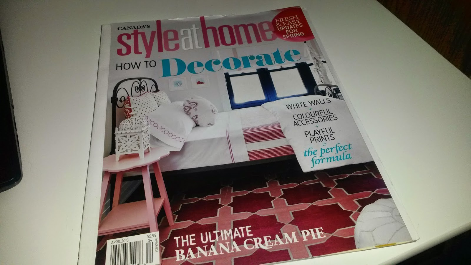 Canada's Style At Home - April 2015