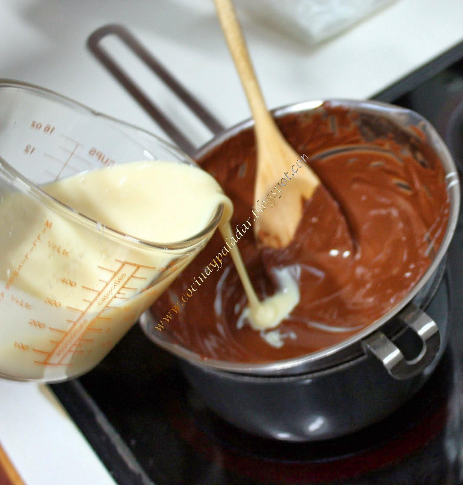 Cocina y Paladar Trufas de chocolate