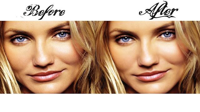 Cara Belajar Manipulasi Edit Foto Close up Menghaluskan Wajah dengan Photoshop CS6 retouch