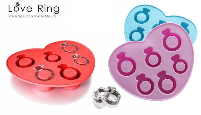 ICE RING - forma de gelo em forma de anéis - R$19,00 - consulte cores