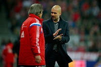 Resistance: Guardiola's ways saw Hans Muller-Wohlfahrt quit after almost 40 years