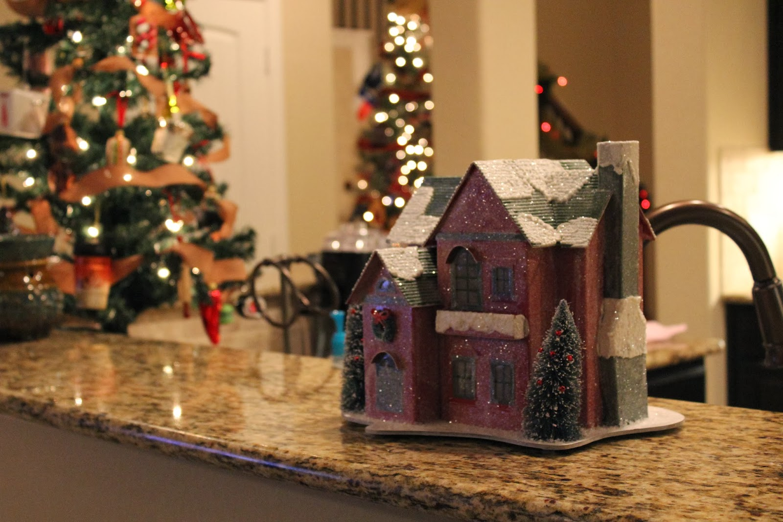 christmas house from home goods given to my by my mother in law