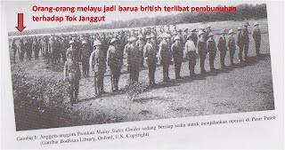 Di dalam gambar ini, di tonjolkan Polis Melayu yang menjadi BALACI
