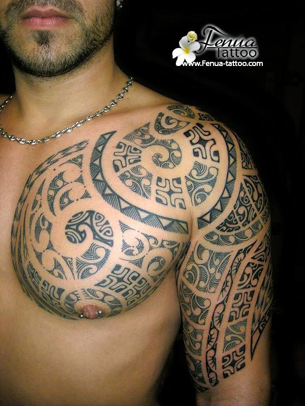 Tatouage Épaule Homme Polynesien - Tatouage Maori Facebook