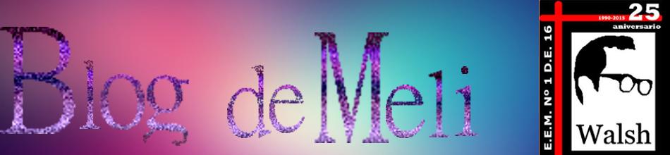 Blog de Meli