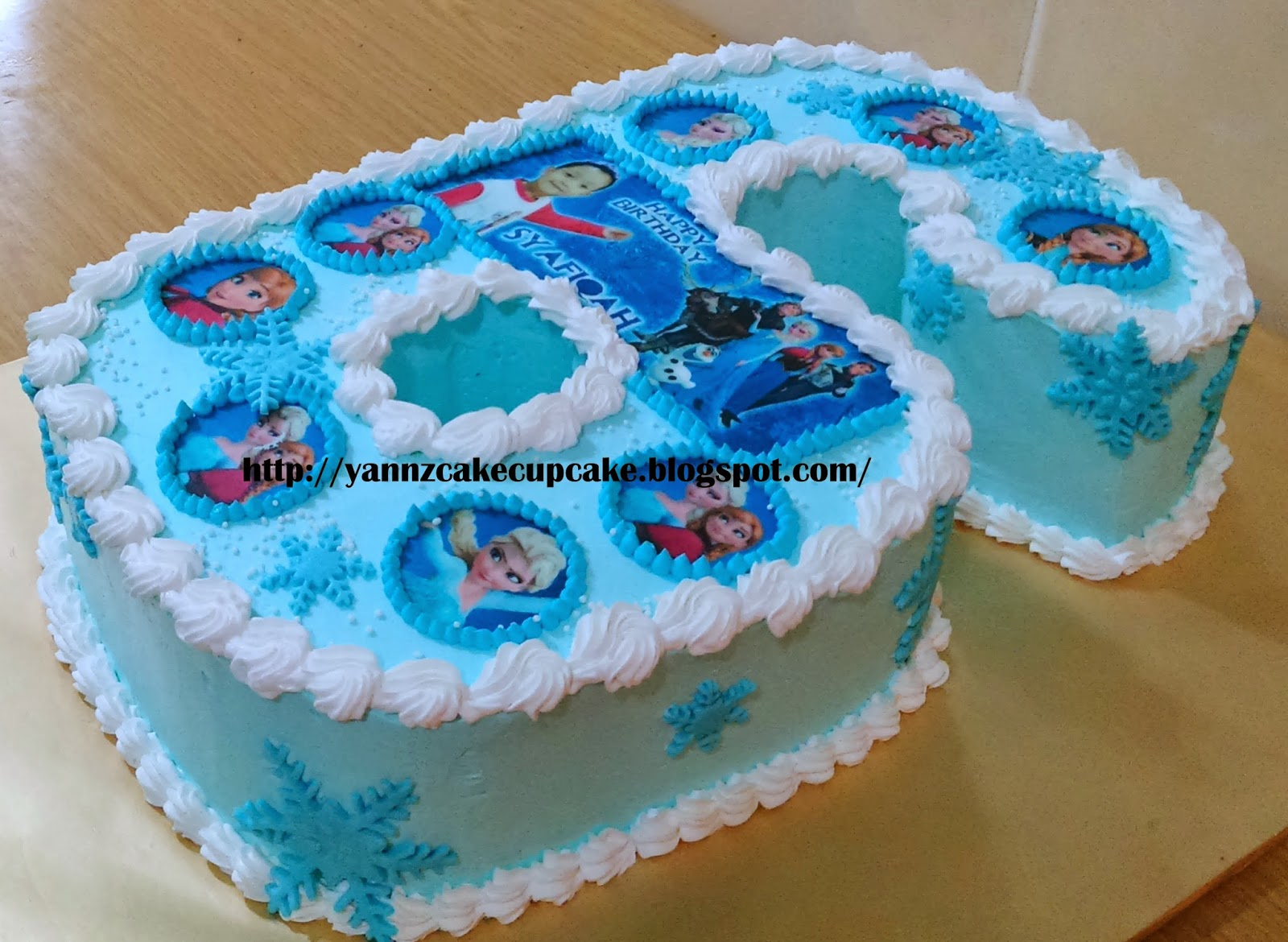 Birthday Cake Pictures Numbers : Image Gallery number 6 cake