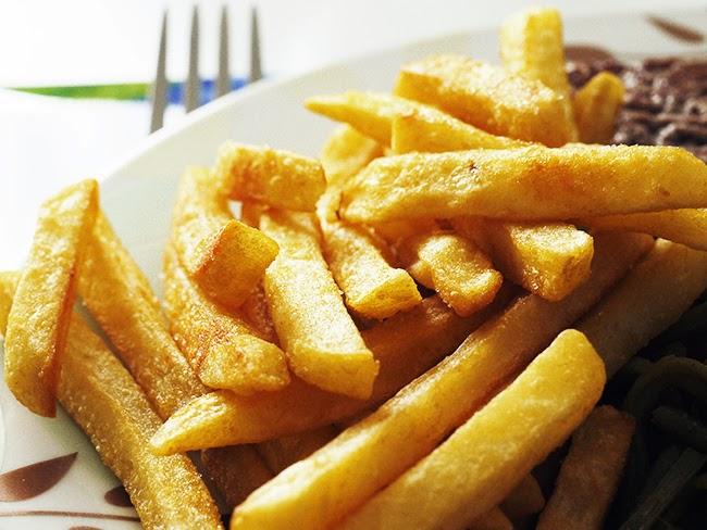 Patatas fritas mas crujientes. 5 trucos