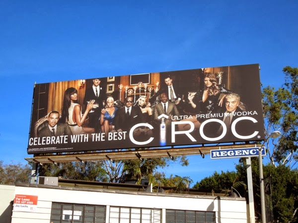 Cîroc Celebrate with the best billboard