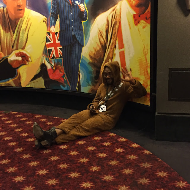 Wookiee friend taking a Star Wars break