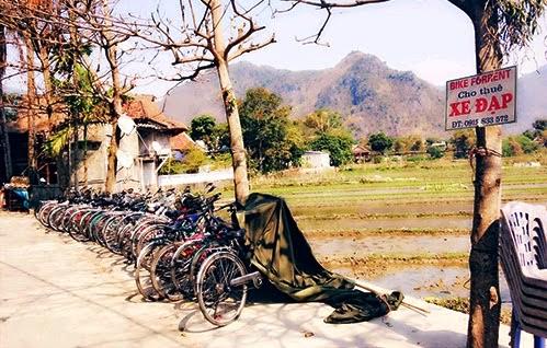 Thue xe dap tai Ban Lac Mai Chau