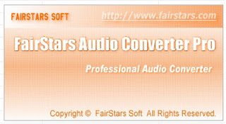 FairStars Audio Converter Pro 1.52 Free Download-Audio Converter Software Download