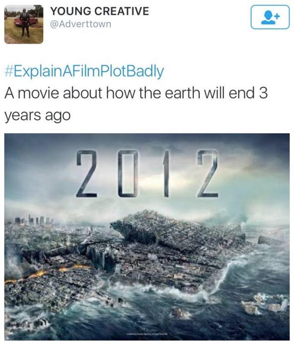 Sekiranya Plot Filem Hollywood Diterangkan Oleh Peminat Dengan Cara Mereka Sendiri
