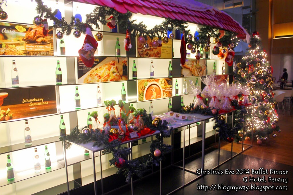 Christmas Eve 2014 Buffet Dinner G Cafe G Hotel