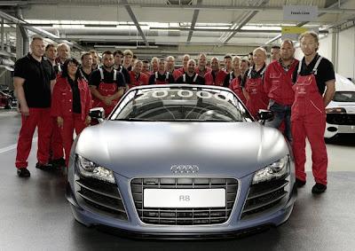 Audi R8 : 6 ans de réussite