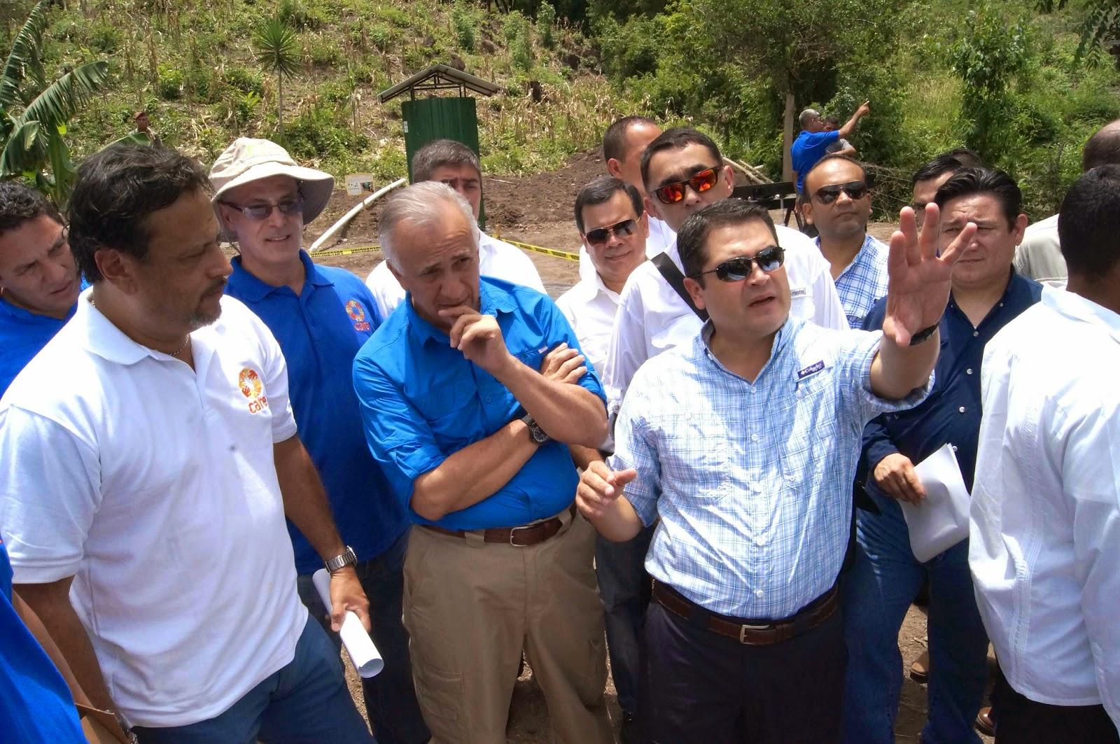 JOH visita casa modelo de CARE-Honduras