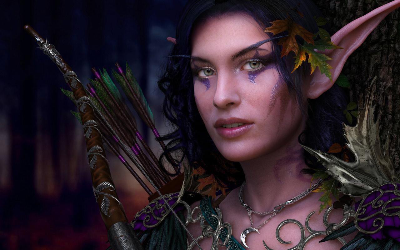 warrior elf desktop wallpapers - photo #36