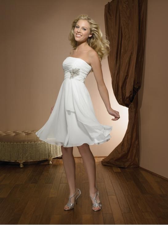 Kurze Brautkleid Online Blog: Die Wahl von kurze Hochzeitskleider
