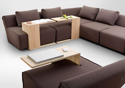 Sofa dengan Meja Portable 1