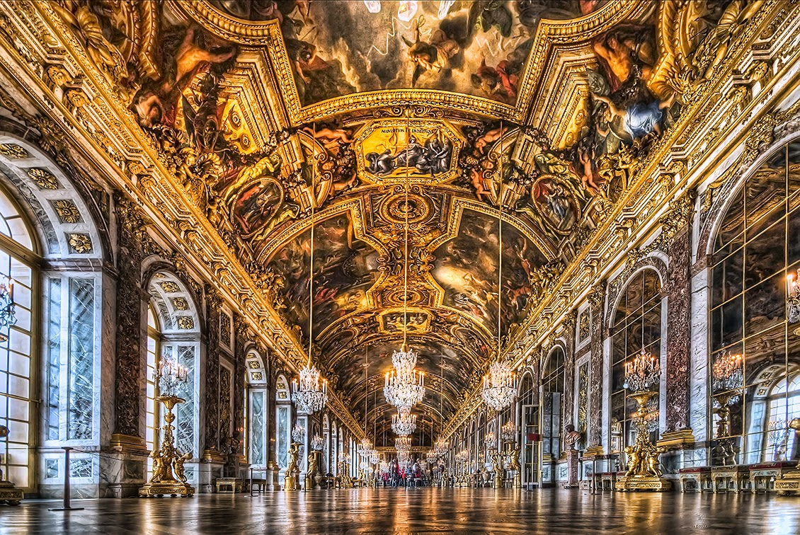 Palace of versailles tourist destinations for Interieur france