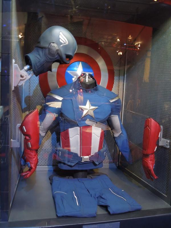 Captain America costume Avengers