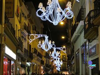 Sevilla - Alumbrado navideño 2014 - Calle Sierpes