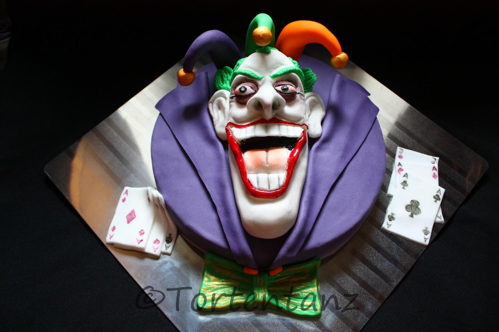 Cake Art Decor Zeitschrift : Joker-Cake Tortentanz