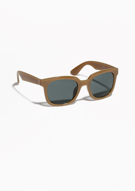 mustard sunglasses, beige sunglasses,