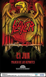 Slayer en Mexico 2011