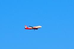 Im Landeanflug...