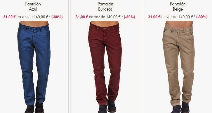 pantalones 31 euros