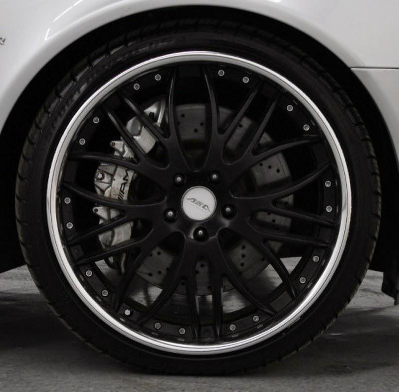 Mercedes Benz W211 E55 Amg Black Wheels Benztuning