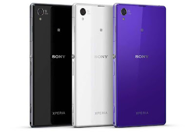 Sony xperia Z1 android gadget color panels itechment