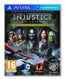 Injustice portada PsVita