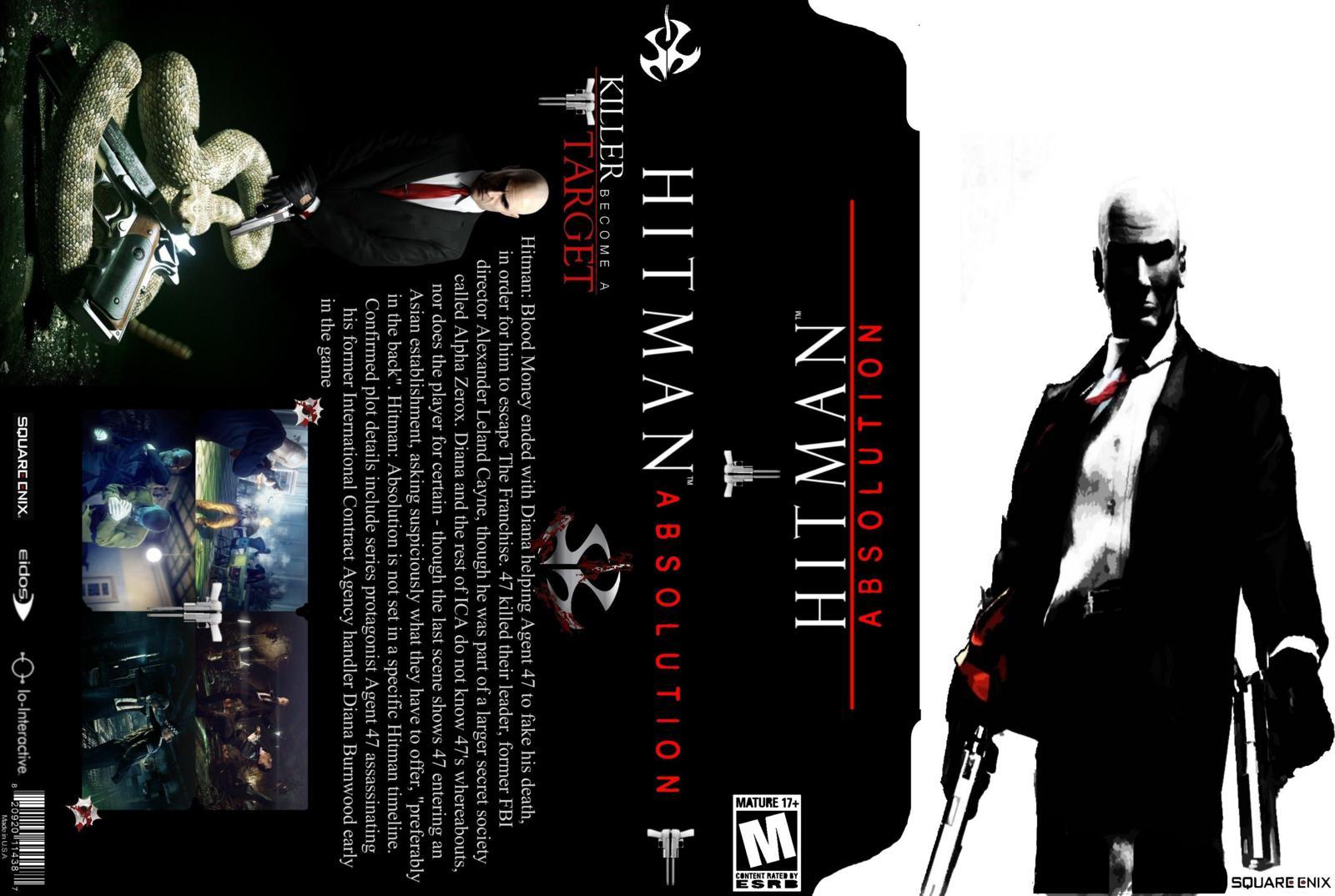 Capa Hitman Absolution PC