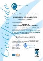 CERTIFICACIÓN DE CALIDAD EDUCATIVA