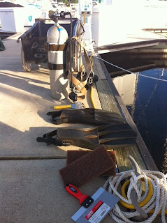 boat maintenance hull cleaning