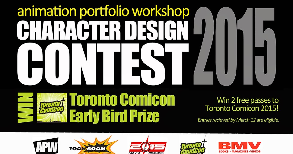 Character Design Competition 2015 : Animation portfolio workshop life drawing don t forget