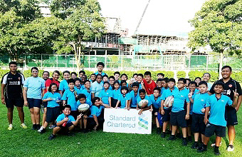 Rugby Starter @ First Toa Payoh Primary