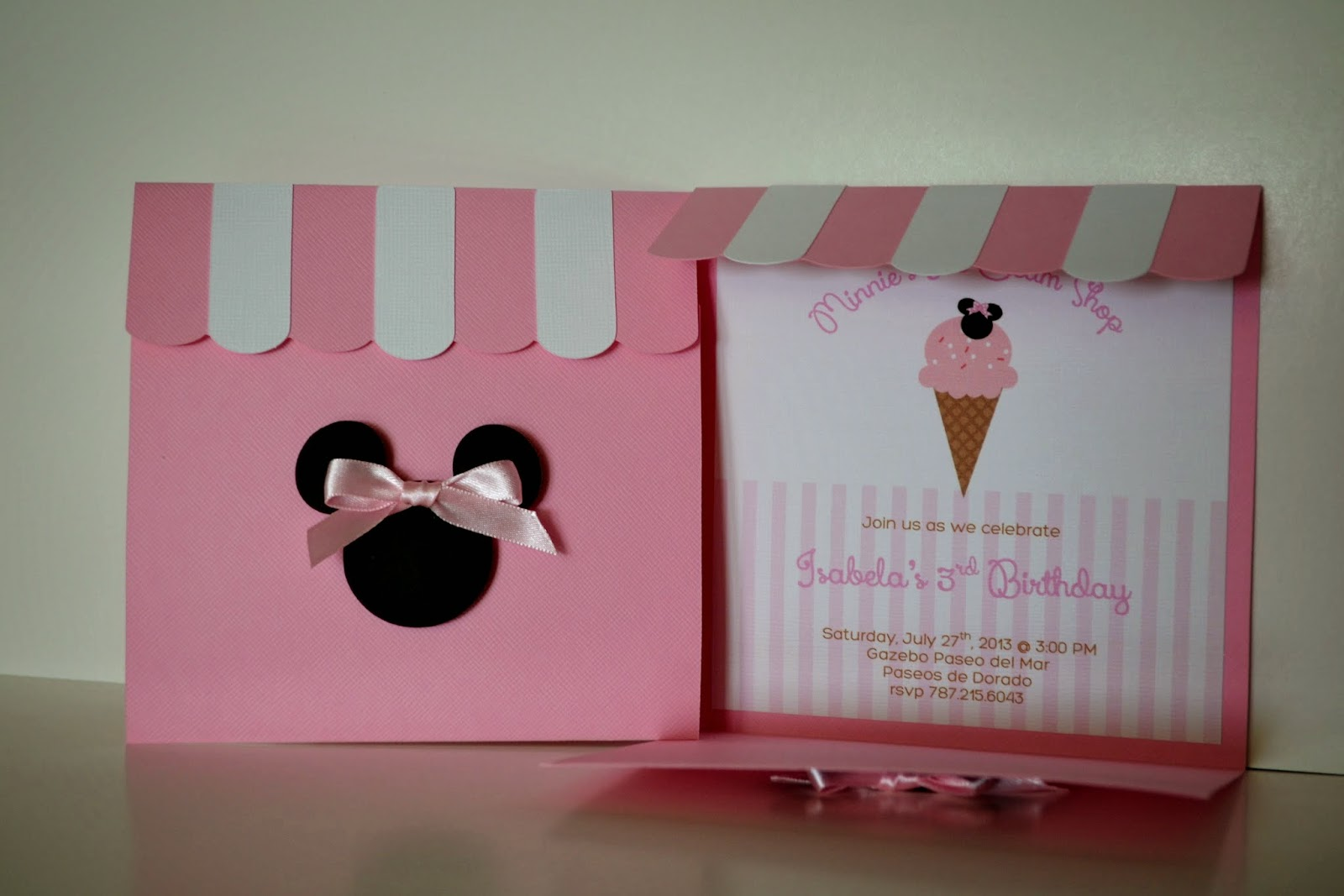 Partylicious Events PR: Birthdays: {Minnie\'s Ice Cream Shop}